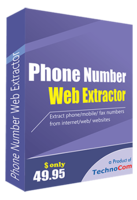 Technocom Phone Number Web Extractor Coupon