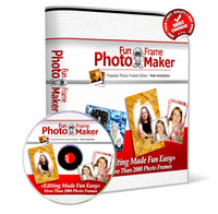 Photo Fun Frame Maker 2014 with Triple Bonus Package – Exclusive 15% off Coupon
