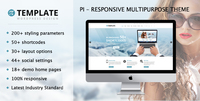 Pi Multipurpose Responsive WordPress Theme Coupon Code