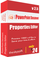 TheSkySoft PowerPoint Document Properties Editor Coupon Code
