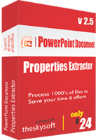 15% off – PowerPoint Document Properties Extractor