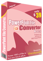 PowerPoint File Converter Batch – 15% Discount