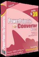 PowerPoint File Converter Batch – 15% Discount