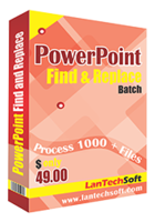 LantechSoft – Powerpoint Find and Replace Batch Coupon Code
