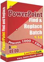 Powerpoint Find and Replace Batch Coupon Code