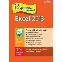 Individual Software ProfessorTeaches Excel 2013 Coupon
