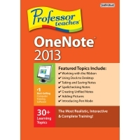 ProfessorTeaches OneNote 2013 Coupon Code