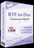 RTF TO DOC Converter Batch Coupon Code