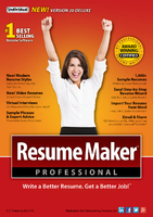 ResumeMaker Professional Deluxe 20 – Exclusive 15% Coupon