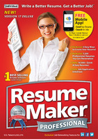 Instant 15% ResumeMaker Professional Deluxe Coupon