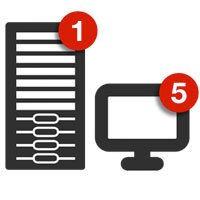 15% Retrospect Single Server (Disk-to-Disk) 5 Workstation Clients v.11 for Windows w/ 1 Yr Support & Maintenance (ASM) Sale Coupon
