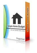 Simple Home Budget Coupon