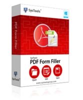 Special Offer – SysTools PDF Form Filler – Personal License Coupon Sale