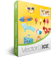 15% off – Summer Vector Pack – VectorVice
