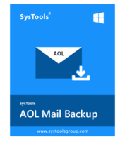SysTools AOL Backup – Single User – Exclusive Discount