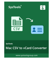 SysTools Software Pvt. Ltd. – SysTools CSV to vCard for MAC Sale