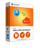 SysTools DBX Converter + Outlook to Office 365 – One License – Exclusive Coupon
