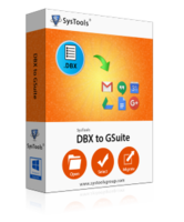Exclusive SysTools DBX to G Suite – One License Coupon