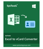 SysTools Excel to vCard Coupon