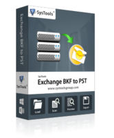 SysTools Exchange BKF to PST Coupon