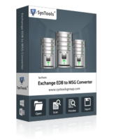 SysTools Exchange EDB to MSG Converter – Exclusive Discount