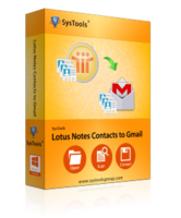 SysTools Lotus Notes Contacts to Gmail Coupon