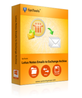 SysTools Software Pvt. Ltd. SysTools Lotus Notes Emails to Exchange Archive – Site License Coupons