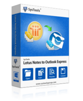Amazing SysTools Lotus Notes to Outlook Express Discount