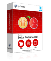 SysTools Lotus Notes to PDF Converter – Exclusive Discount