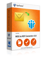 SysTools MSG to NSF Converter Coupon