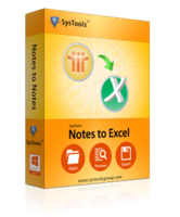 SysTools Notes to Excel Coupon