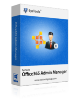 SysTools Office 365 Admin Manager – Site License Coupon