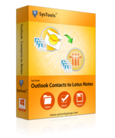 SysTools Outlook Contacts to Lotus Notes Coupon