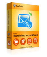 Amazing SysTools Thunderbird Import Wizard Coupon Code