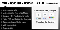 Techmagnet Solutions – TM Social Lock Sale