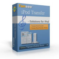 Tansee iPod Transfer Coupon – 25%