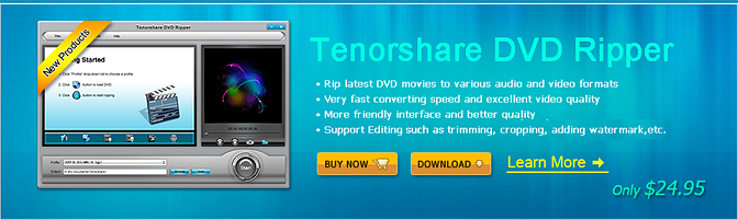 Tenorshare Video Converter for Windows Coupon Code – $10