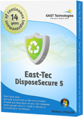 Test – East-Tec DisposeSecure 5 – Exclusive 15% Coupons