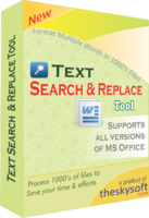 TheSkySoft – Text Search and Replace Tool Coupon Deal