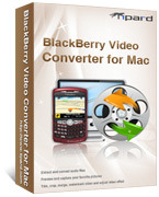 Exclusive Tipard BlackBerry Video Converter for Mac Coupon Sale