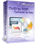 Tipard Tipard DVD to 3GP Converter for Mac Discount