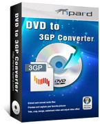 Tipard DVD to 3GP Converter Coupon 15%