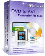 15% Tipard DVD to AVI Converter for Mac Coupon Code