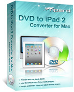 15% – Tipard DVD to iPad 2 Converter for Mac