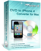 15% Tipard DVD to iPhone 4 Converter for Mac Coupon