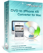 Tipard Tipard DVD to iPhone 4S Converter for Mac Coupon