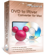 15 Percent – Tipard DVD to iRiver Converter for Mac