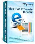 15% Tipard Mac iPad 2 Transfer for ePub Coupon