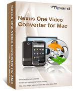 Tipard Nexus One Video Converter for Mac Coupon 15%