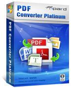 15% Tipard PDF Converter Platinum Coupon